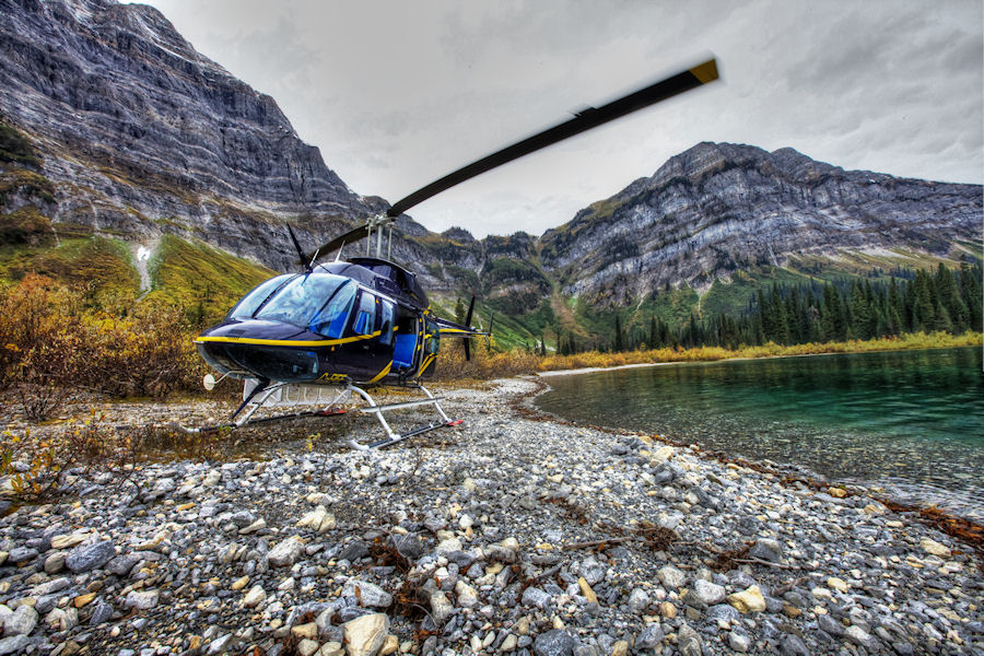 Helicopter Fishing Package